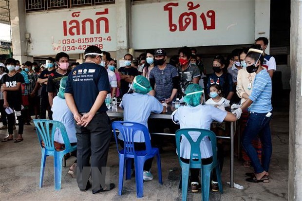 COVID-19: Thailand plans free vaccine injections for half of population this year hinh anh 1