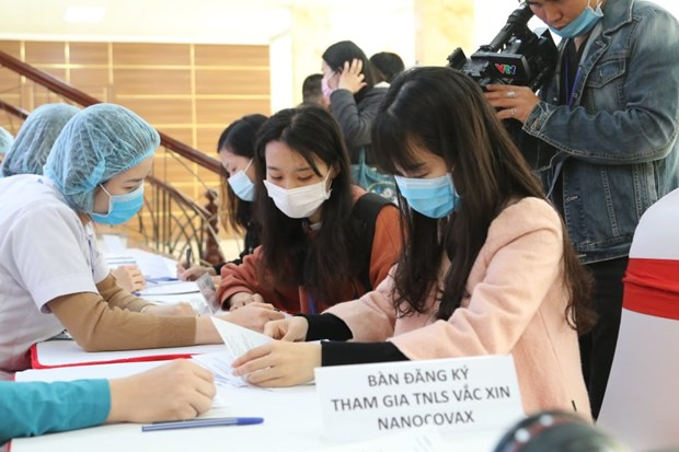 Second Vietnam-produced COVID-19 vaccine to begin human trials soon hinh anh 1