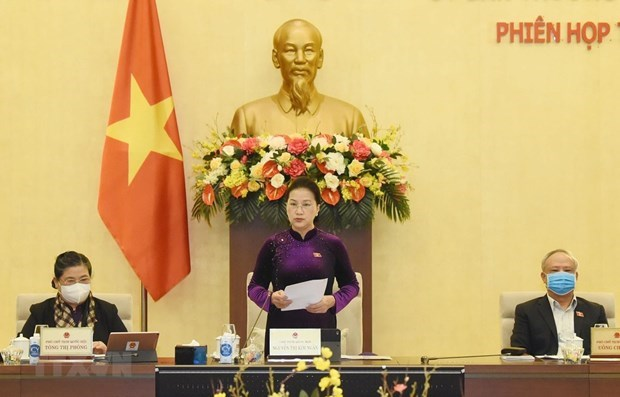 NA Standing Committee to convene 52nd meeting next week hinh anh 1