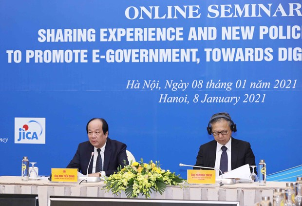 Seminar shares Japan's experience, new policies in e-Government hinh anh 2
