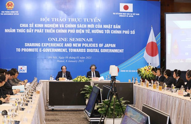 Seminar shares Japan's experience, new policies in e-Government hinh anh 1