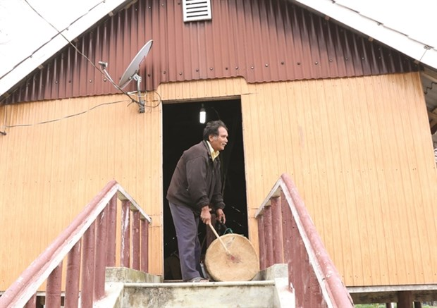 Ba Na ethnic community celebrates new crop hinh anh 1