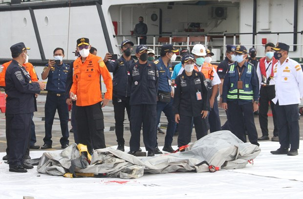 Indonesian President expresses condolences to families of plane crash victims hinh anh 1