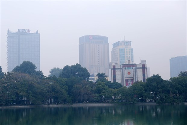 Winter air warning on heavily polluted days hinh anh 1