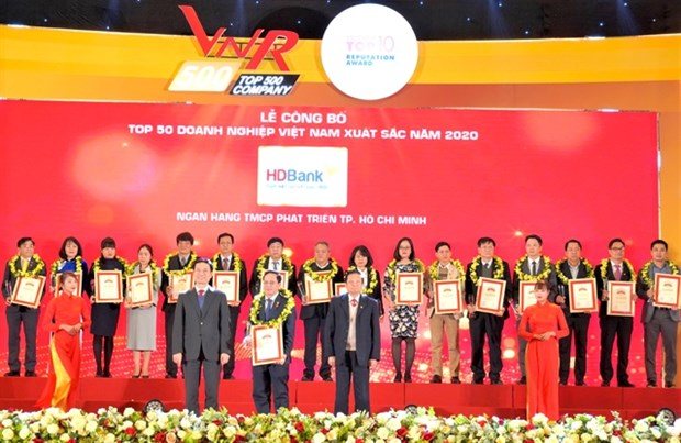 HDBank named among best companies in Vietnam hinh anh 1