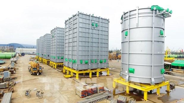 Doosan Vina exports raw fuel heating equipment to Thailand hinh anh 1