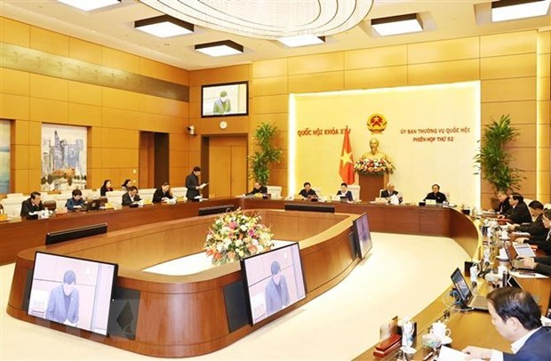 NA Standing Committee opens 52nd sitting hinh anh 1