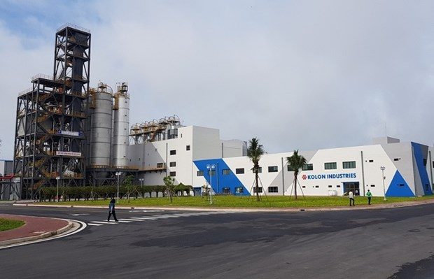 Korean firm expands tire cord plant in Vietnam hinh anh 1