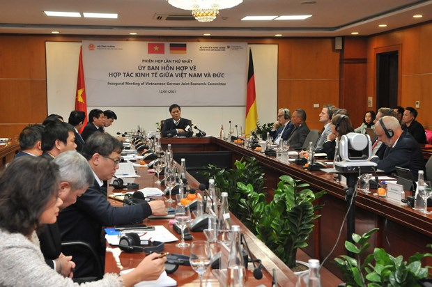 Vietnam-Germany joint committee on economic cooperation holds first meeting hinh anh 1