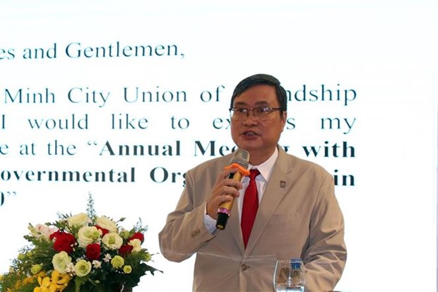 HCM City hopes to receive more support from foreign NGOs hinh anh 1