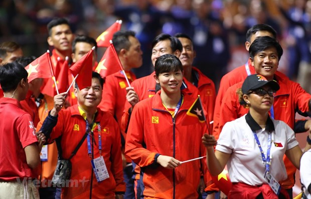 Hanoi to complete infrastructure for SEA Games 31 by Sept. 30 hinh anh 1