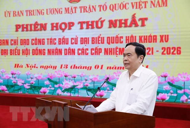 Vietnam Fatherland Front to uphold consultation role in general election hinh anh 1