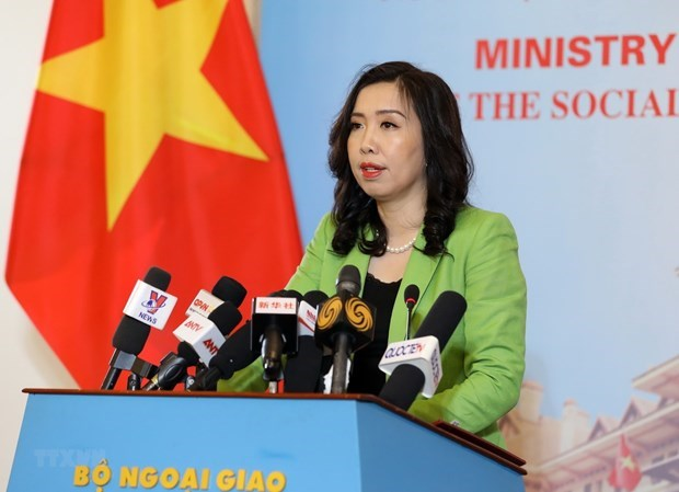 Vietnam reaps many diplomatic achievements: Foreign Ministry spokesperson hinh anh 1