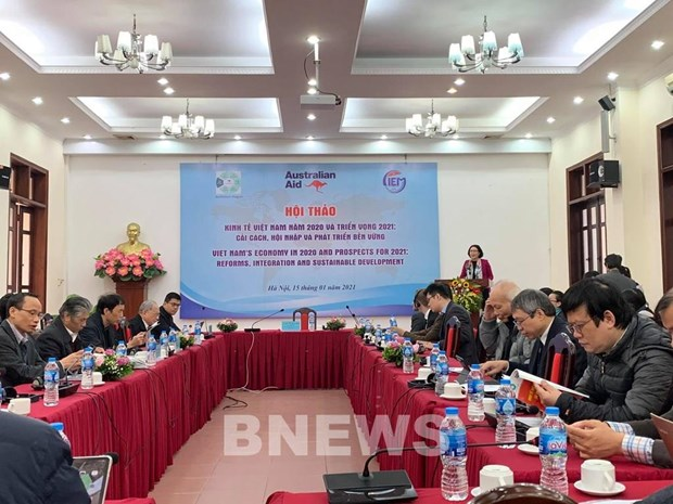 CIEM issues two scenarios for economic growth for 2021 hinh anh 1
