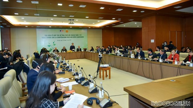 Int'l cooperation needed for COVID-19 fight: Official hinh anh 2