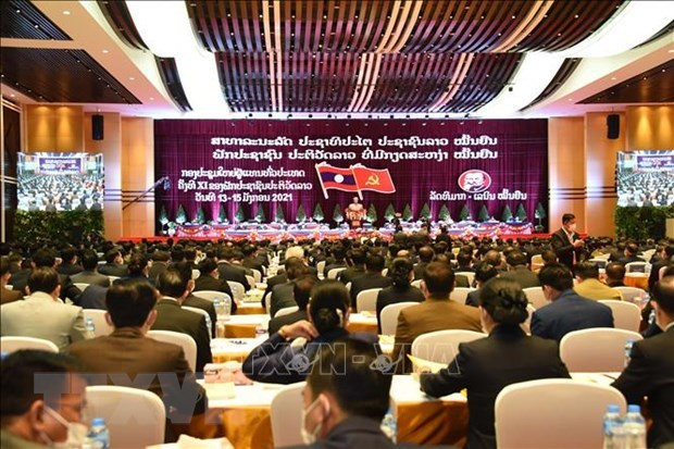 Thongloun Sisoulith becomes new leader of Lao People's Revolutionary Party hinh anh 1