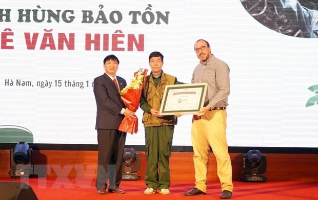 Vietnam has second Disney Conservation Hero hinh anh 1