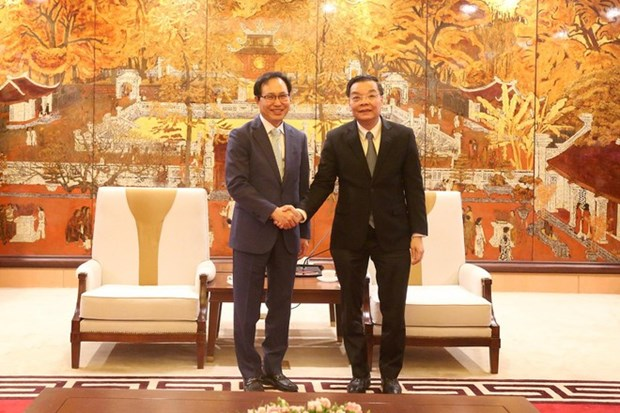 Samsung urged to back Hanoi in smart city development hinh anh 1