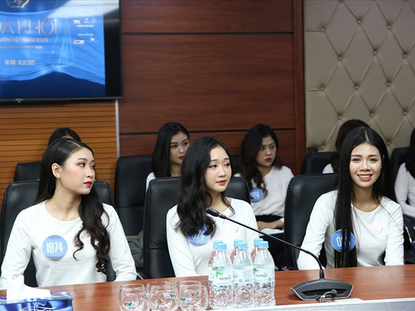 Final round of Miss University 2020 held in Hanoi hinh anh 1