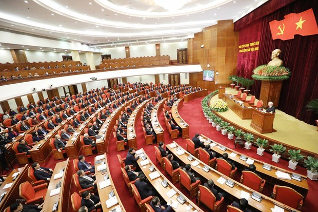 Party Central Committee convenes 15th plenum hinh anh 1