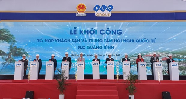 Work starts on FLC Quang Binh Beach and Golf Resort hinh anh 1