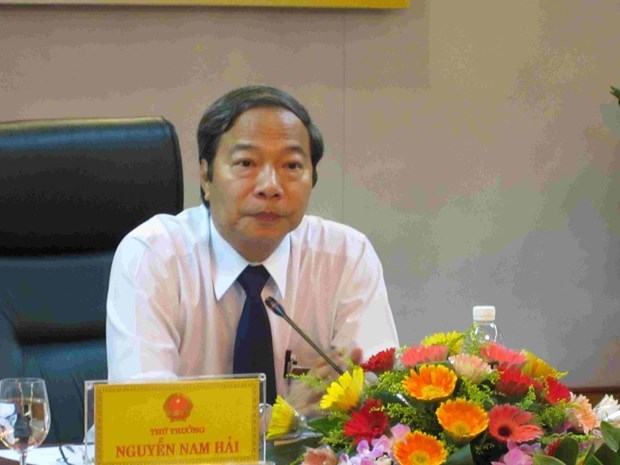 Former deputy minister summoned for Vu Huy Hoang's trial hinh anh 1
