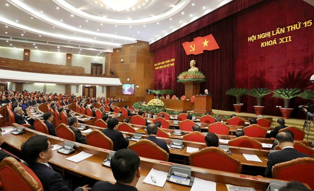 Party Central Committee plenum completes preparation for 13th Congress hinh anh 1