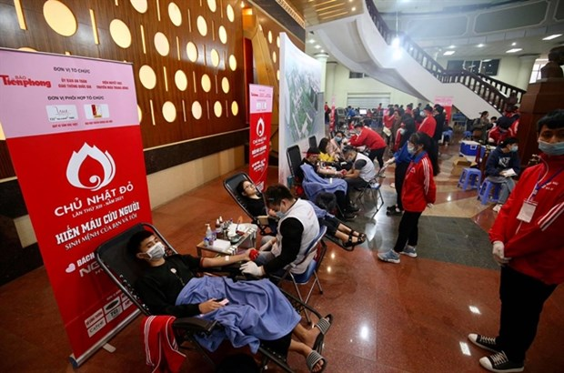Thousands join blood donation festival in Hanoi hinh anh 1