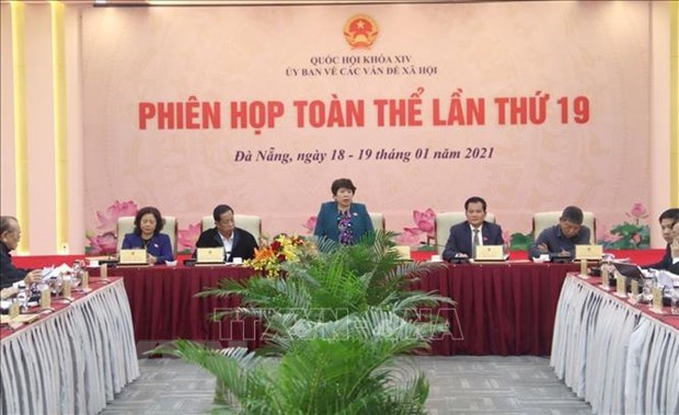 NA's Committee for Social Affairs convenes 19th plenary session hinh anh 1