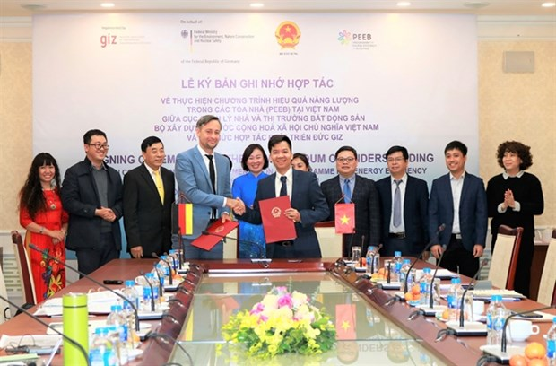 New partnership to reduce greenhouse gas in building hinh anh 1