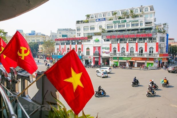 Hanoi readies for 13th National Party Congress hinh anh 2