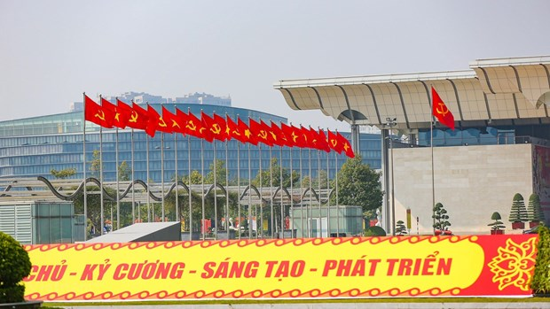 Hanoi readies for 13th National Party Congress hinh anh 1