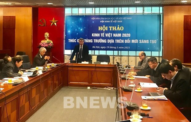 GDP growth to reach 5.49 pct. in normal scenario in 2021: Economics Institute hinh anh 1