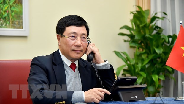Vietnam pledges to support Brunei's ASEAN Chair hinh anh 1