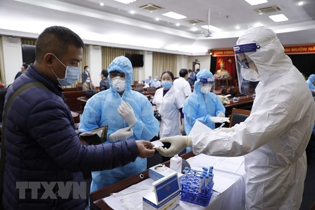 Medical staff trained to serve upcoming 13th National Party Congress hinh anh 1