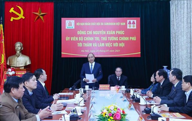 VAVA praised for efforts to care for AO victims hinh anh 1
