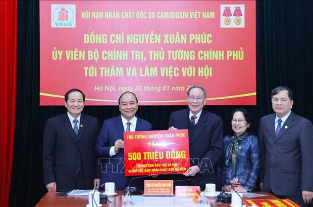 VAVA praised for efforts to care for AO victims hinh anh 2