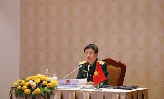 Vietnam attends forum preparing for 2021 Shangri-La Dialogue hinh anh 1