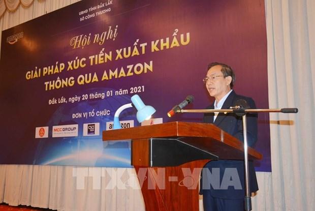 Dak Lak promotes shipments via Amazon hinh anh 2