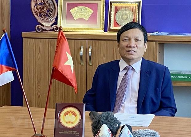 Vietnamci v České republice vkládají velké naděje do 13. národního kongresu Národní strany hinh anh 1