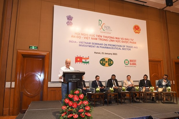 Vietnamese, Indian pharmaceutical firms have great opportunities in Vietnam hinh anh 1