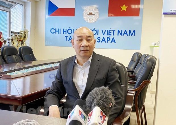 Vietnamci v České republice vkládají velké naděje do 13. národního kongresu Národní strany hinh anh 2