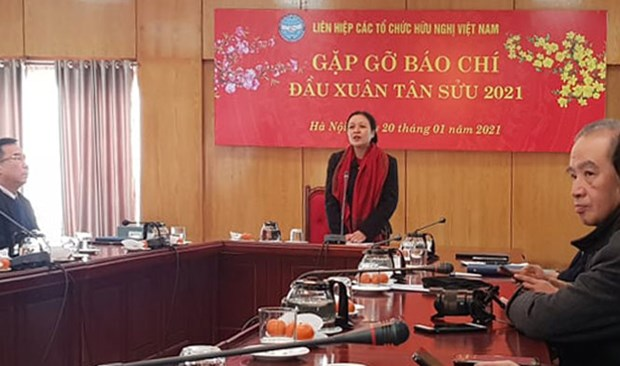 2020 a successful year of people-to-people diplomacy: Official hinh anh 1