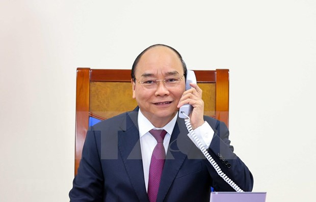Vietnamese, Australian PM discuss bilateral ties in phone talks hinh anh 1