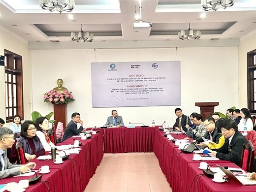 Experts discuss measures to improve business environment hinh anh 1