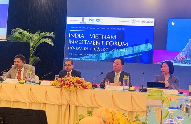 India-Vietnam Investment Forum held in HCM City hinh anh 1