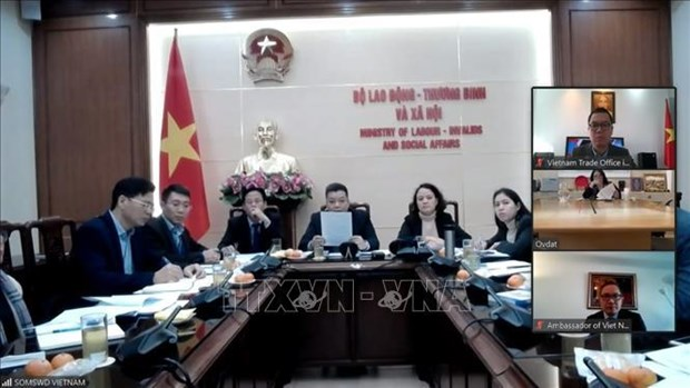 Vietnam, Israel begin negotiation over labour cooperation hinh anh 1