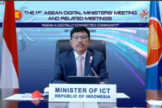 Indonesia supports safe, transformative digital ecosystem in ASEAN hinh anh 1