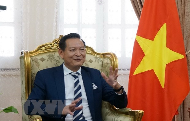 Overseas Vietnamese in Egypt believe in homeland's future hinh anh 1