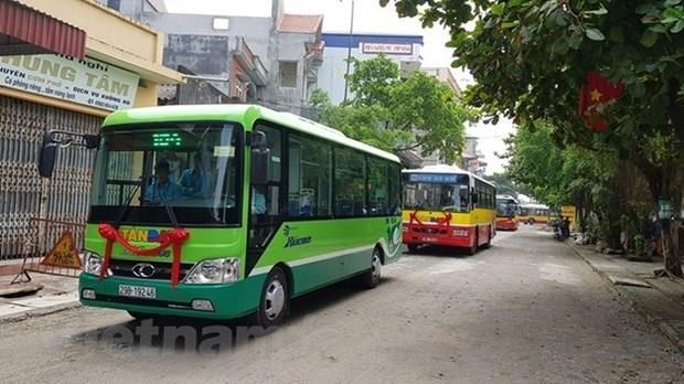 Hanoi to open four new suburban bus routes from February hinh anh 1